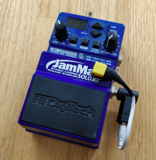 Adding the missing STOP button to the JamMan Solo XT