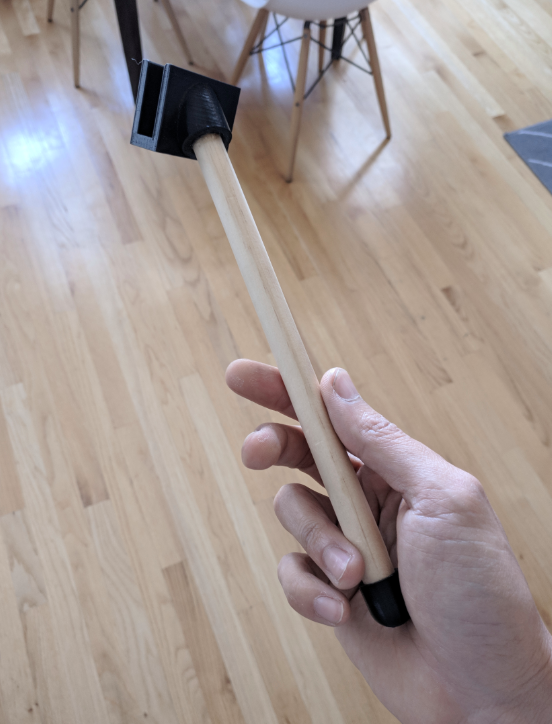 Artisanal selfie-stick?